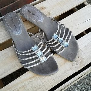 Silver Jones New York sandals